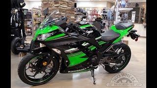10. 2017 Kawasaki Ninja 300 CUSTOM Quick Review