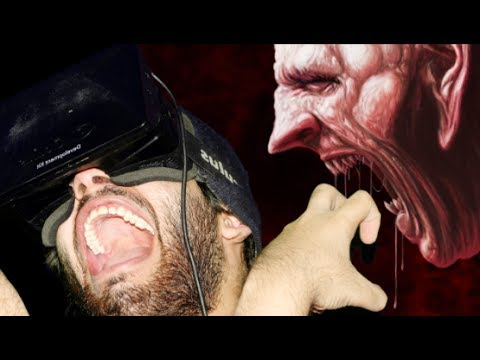 virtual - Haunted House In Virtual Reality, Oculus Rift: This Oculus Rift game was so scary, that I forgot how to talk! I hate you Oculus! I hate you! ☞ Click To Subsc...