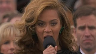 Beyonce Performs At President Barack Obama's Inauguration