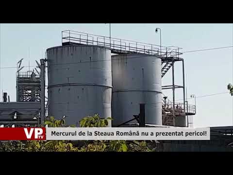 Mercurul de la Steaua Românâ nu a prezentat pericol!