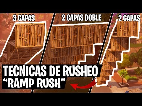 🏃🏻‍♂️TECNICAS PARA RUSHEAR EN FORTNITE BATTLE ROYALE | Ch3nTi