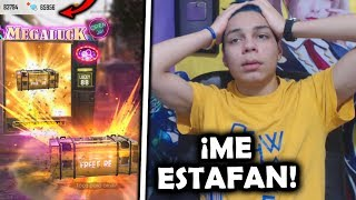 ¡ME GASTÉ 10,000 DIAMANTES en el LUCK ROYALE en FREE FIRE y TERMINE SUPER ESTAFADO! *no lo creo*