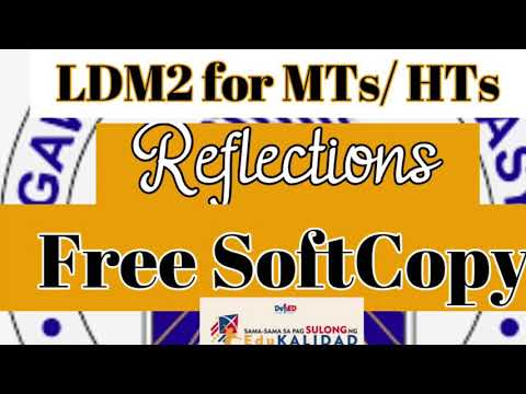 LDM2 for MTs & HTs|Required Reflections|| FREE SOFTCOPY