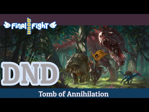 Video thumbnail for Dungeons and Dragons – Tomb of Annihilation – Episode 89