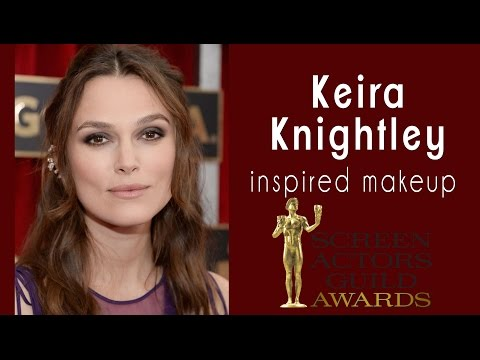 Keira Knightley SAG Awards 2015 inspired makeup