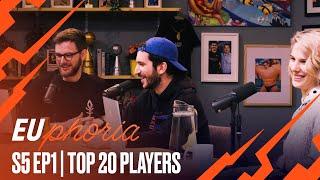 Top 20 Player Rankings | EUphoria Season 5 Episode 1 by League of Legends Esports