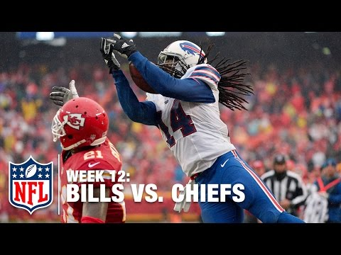 Sammy Watkins Can't Be Stopped! (1st-Half Highlights) | Bills vs. Chiefs | NFL