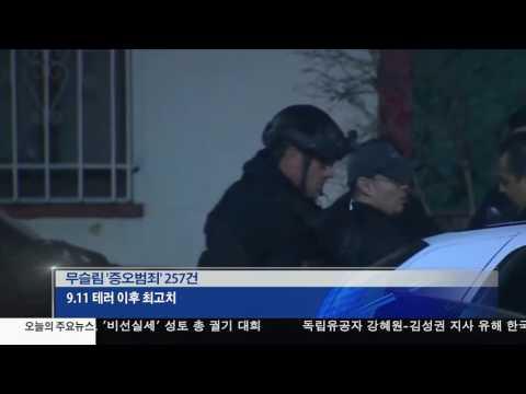 무슬림 '증오범죄' 67%급증 11.14.16 KBS America News