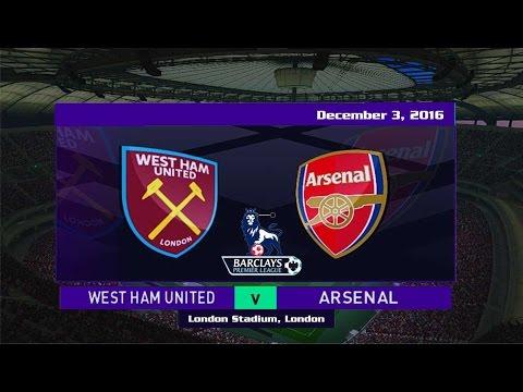 West Ham United vs Arsenal 1-5 All Goals & Highlights 3/12/2016   Premier League 2016/2017