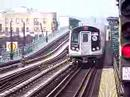 MustangFan424 - This is a video I took of a R160B Siemens Set via the D line departing a station.