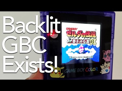 The Backlit Game Boy Color From Taobao | This Does Not Compute Podcast #44