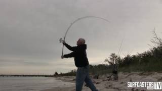 Surfcaster's Journal Video Review By Surf Rod Guru Lou Caruso:  ODM Rods