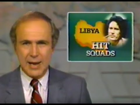 mubarak - This is a November 1984 news segment about a shrewd scheme by Egypt's Hosni Mubarak which tricked Muammar Gaddafi into prematurely claiming credit for the as...