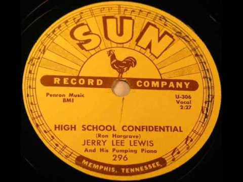 JERRY LEE LEWIS  High School Confidential  1958