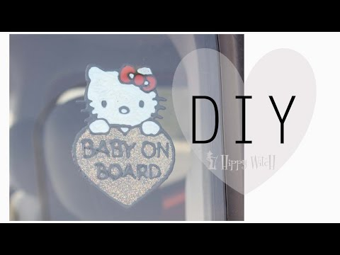 diy: adesivi fai da te - window clings