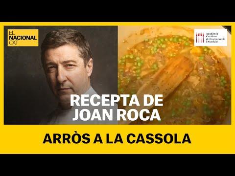 RECEPTA EN TEMPS DE CONFINAMENT: Arròs a la cassola amb Joan Roca