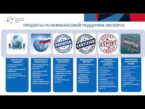 Возможности поддержки экспорта российских информационных технологий
