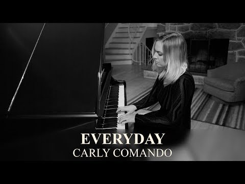 "Beautiful Piano Ballad: ""Everyday (Grand Piano)"" Live By Carly Comando"