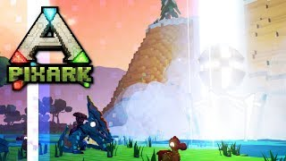 What's in a White Loot Drop? • Ep.03 • PixARK Multiplayer w/ PythonGB