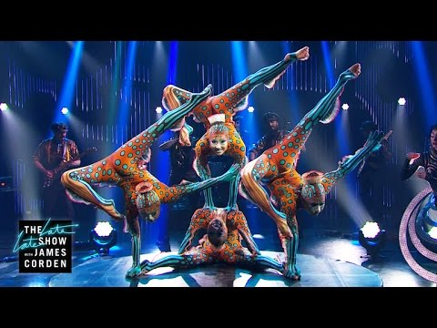 Assista a uma espetacular performance do Cirque du Soleil