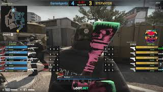 (RU) STEPxHYDR vs GameAgent   LOOT.BET Smack My Beach Cup   de_overpas   by TOLL & AnuB1S