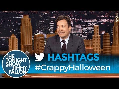 Tonight Show Hashtags  CrappyHalloween