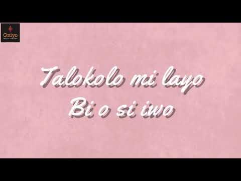 O ku'itoju Mi lyrics video.  PSALMOS @psalmosofficial ft TOPE ALABI   @tope_alabi_