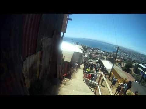 Chilean downhillers test their city limits