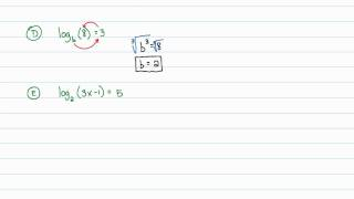 Intermediate Algebra - Exponential and Logarithmic Functions: Solving Equations