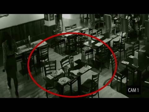 real paranormal activity caught on tape!