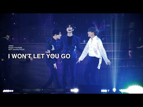 [4K] 190203 ROAD2U Final KOBE I WON'T LET YOU GO - GOT7 JINYOUNG FOCUS