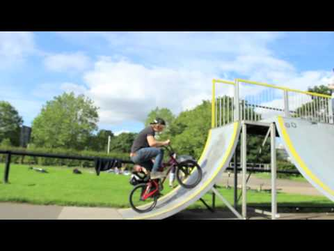 Oly Derham bmxing central skatepark chelmsford