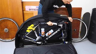 Packing your bike for travel