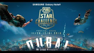 PMSC Global Finals Day 3 [ENGLISH] | Galaxy Note9 PUBG MOBILE STAR CHALLENGE- Global Finals