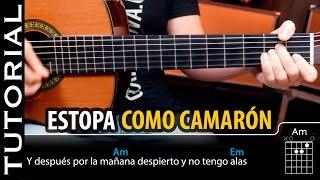 Cómo tocar Como Camarón de ESTOPA en guitarra acordes  | Guitarraviva