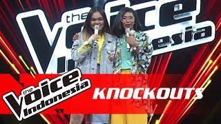 Video Zahra vs Jaqlien | Knockouts | The Voice Indonesia GTV 2018 MP3, 3GP, MP4, WEBM, AVI, FLV September 2019