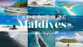 Get exclusive privileges when you #ExperienceMaldives with American Express® . Visit http://www.experiencemaldivesnow.com.