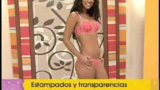 CATY ROSS - IVANNA, DESFILE DE LENCERIA COLOMBIANA