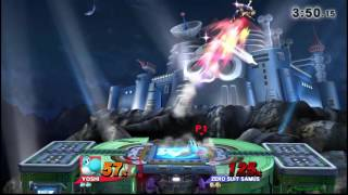 Lazy smash bros compilation video of 3 players