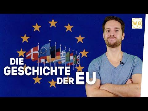 Die Geschichte der Europäischen Union