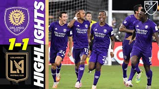 Orlando City SC 1(6) -1 (5) LAFC | 90th Minute Equalizer & Insane Penalty Shootout! | MLS Highlights by Major League Soccer