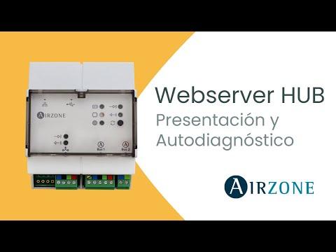 Webserver HUB - Presentación y Autodiagnóstico