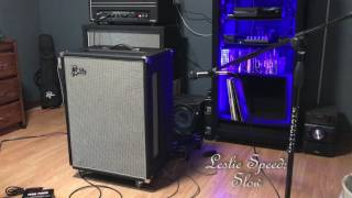 For more about this Leslie, watch this video: https://youtu.be/tE31i0q4HdcIn this video I play some songs from Pink Floyd's Dark Side of the Moon to demo my Leslie speaker cabinet. The overdrive I use is a colorsound powerboost/overdriver clone that I made myself from the original schematics of the original pedal. My amp is a Reeves Custom 100.