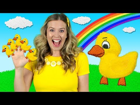 Five Little Ducks   Kids Songs & Nursery Rhymes   Learn to Count the Little Ducks - Thời lượng: 2 phút, 50 giây.