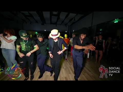 Eddie Torres Jr. , Terry , Fadi , Srini - Animation | 4th World Stars Salsa Festival