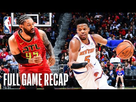 Video: KNICKS vs HAWKS | Dennis Smith Jr. Leads NYK In Atlanta | February 14, 2019