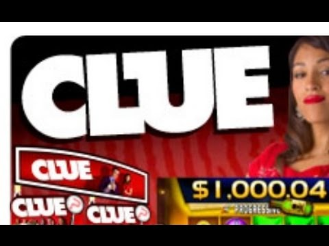 CLUE 2 slot machine Bonus and  Progressive WIN!