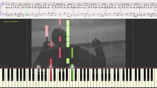 Под фонарем - RASA (Ноты и Видеоурок для фортепиано) (piano cover)