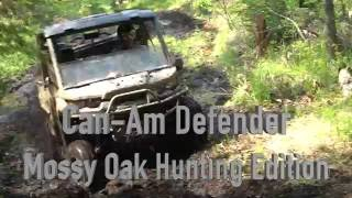 1. 2017 CAN-AM DEFENDER - Mossy Oak Hunting Edition
