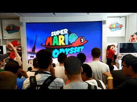 Nintendo E3 2017 Presentation Live Reactions at Nintendo NY